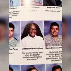 Senior quotes serious