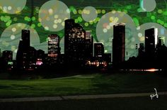Houston Night Green