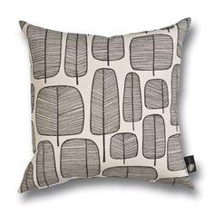 Little Trees Monochrome Cushion