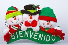 Para que adornes tu puerta y recibas a tus invitados en esta Navidad
