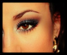 Midnight Eyes For Prom - Navy - Makeup - Beauty - Cosmetics - Jessica Rembish -  http://youtu.be/V9Kz-kzX3K4