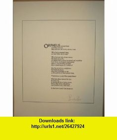 Orpheus ([Poem) Donald Davie ,   ,  , ASIN: B0000EET5L , tutorials , pdf , ebook , torrent , downloads , rapidshare , filesonic , hotfile , megaupload , fileserve