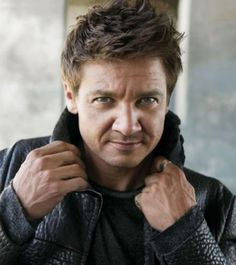 Jeremy Renner.....windswept and interesting!