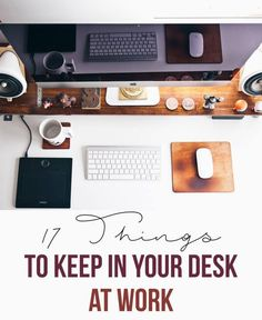 17 Things to Keep in Your Desk at Work | College Fashion
