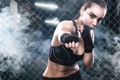Image result for sweaty female boxers