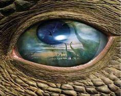 Dinosaurus oog. 208*248 kruisjes (51584 dus)