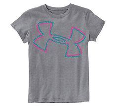 ❅❤Girls Under Armour Logo T-Shirt❤❅