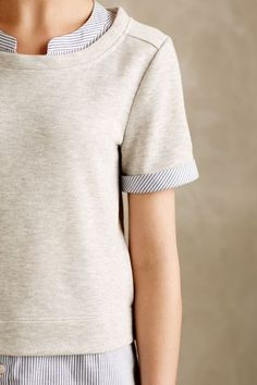 Trinity Layered Sweatshirt - anthropologie.com