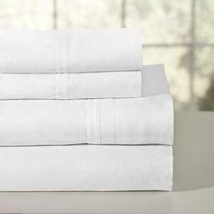 Charlton Home® Currin Comforter Set & Reviews | Wayfair 100 Cotton Sheets, Cotton Sheet Sets, Bed Sheet Sets, Percale Sheets, Bed Sheets, Deep Pocket Sheets, Bedding Basics, Comforter Sets, Grey Comforter