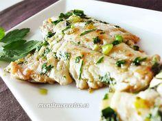Receta de dorada a la plancha con ajo y perejil. Plato de pescado blanco fácil, rápido y de lo más sano.