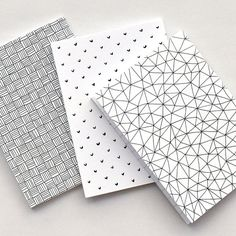 Notebook set Mini diario Lined blocchetti per di PUDISHshop