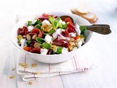 Serranokinkku-salaatti Orange Crush, Cobb Salad, Potato Salad, Nutrition, Ethnic Recipes, Food, Tigers, Lions, Owls