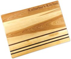 Personalized Integrity Large Cutting Board