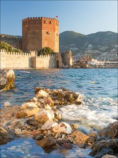 Turkey. Alanya. Kızıl Kule (Red Tower).