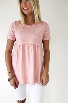 Rose Babydoll Top | ROOLEE