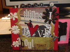 Scrapbook, I really want to make one for an upcoming big event in a friend's life!!!!