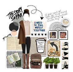 """Now that I'm without your kisses, I'll be needing stitches"" by taspxa ❤ liked on Polyvore featuring Moleskine, Paige Denim, Cole Haan, Moore & Giles, Dot & Bo, Boskke and Home Decorators Collection"