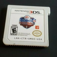 We love multiple buys! Nintendo 3ds New, Television Console, Street Game, Madden Nfl, Ea Sports, Best Graphics, Nfl Football