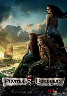 contemporary  Mermaid Art | ... Caribbean' poster: Which mermaid is Ariel? | Inside Movies | EW.com