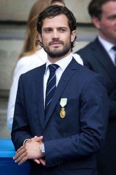 Swedish Prince Carl Philip
