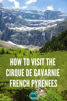 Find out all you need to know about this easy hike to the Cirque de Gavarnie in the French Pyrenees #hikingcirquedegavarnie #visitcirquedegavarnie #hikingfrance #hikingpyrenees Hiking Norway, Hiking Europe, Road Trip France, France Travel, Mont Blanc Hike, Hiking Wear, Travel Tips, Travel Destinations, France Photos