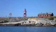Måseskär (Engl.: The Gull Skerry) is a rocky island and a lighthouse station located in the sea of Skagerrak on the west coast of Sweden.    Since the year 18... Get more information about the Måseskär Lighthouse on Hostelman.com #attraction #Sweden #landmark #travel #destinations #tips #packing #ideas #budget #trips #lighthouse