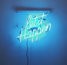 #light #neon #blue #aesthetic #aes #tumblr
