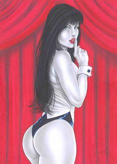 Zatanna by Rick Waekmann - Ed Benes Studio