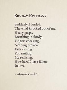 Sunday Epiphany by Michael Faudet