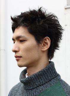 ナチュラルレイヤーショート(髪型メンズ)