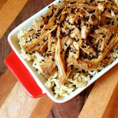 Asian BBQ Pulled Pork - The Lemon Bowl