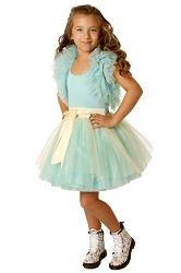 Ooh! La, La! Couture Blue Ice Ruffle Shrug