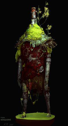ArtStation - Guardian of the Forest, Mikhail Rakhmatullin