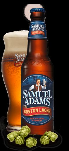 Samuel Adams Boston Lager from Boston Beer Company More Beer, Wine And Beer, All Beer, Samuel Adams Boston Lager, Craft Bier, American Beer, Beer Tasting, How To Make Beer, Beer Brewing