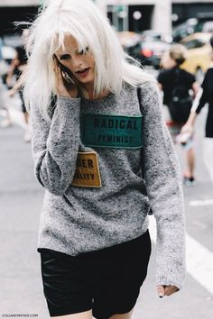 New York Fashion Week Spring Summer 2016 Street Style Lacoste Hanne Gabby 790x1185