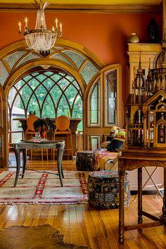 Home Interior Design Large Glass Hobbit Door In Historic 1884 Bohemian Victorian House InteriorsVictorian RoomsVictorian