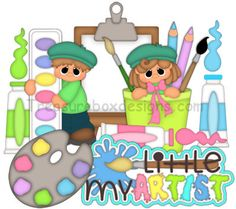 My Little Artist - Treasure Box Designs Patterns & Cutting Files… Balloon Animals, Animal Balloons, Lego Girls, Scrapbook Pages, Scrapbooking Ideas, Scrapbook Layouts, Girl Guides, Pattern Cutting, Treasure Boxes