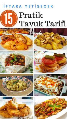 İftara Yetişecek Kolay Tavuk Yemekleri - Nefis Yemek Tarifleri