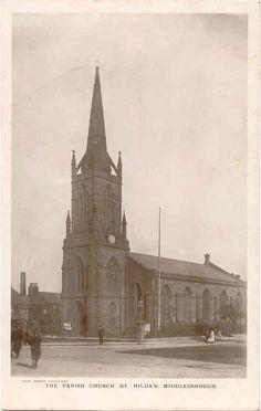 St Hilda's Parish Church, Middlesbrough  1913