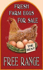 eggs for sale sign Chicken Coop Decor, Chicken Signs, Chicken Crafts, Chicken Art, Keeping Chickens, Raising Chickens, Eggs For Sale, Farm Signs, Fresh Chicken