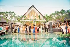 A Colorful Bali Wedding