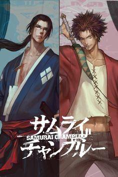 Samurai Champloo Jin y Mugen