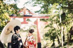 和装前撮り*新郎新婦と神社とたこ  *ウェディングフォト elle pupa blog* Ameba (アメーバ)