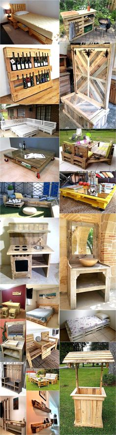The wooden pallets can be used in their natural form, can be re-modeled and recycled. They can be easily turned into anything from coffee tables, center tables, office workstations, loungers, storage cupboards, beds and sofas. Whether indoor or outdoor its more than just a piece of timber.