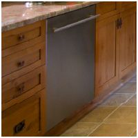flushed so perfectly with your cabinets ~ Asko Built In Dishwasher Stainless