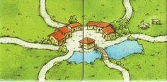 Carcassonne: The school promo - tiles (back)