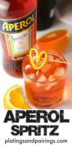Looking for a perfect Summer Cocktail? The Aperol Spritz is light, bubbly and refreshing - Plus, just 3 ingredients!