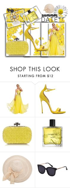 """""""Totwoo 3"""" by spolyvore1 ❤ liked on Polyvore featuring Mori Lee, Casadei, Bottega Veneta, Miller Harris, totwoo, totwooglobal and smarttech"""