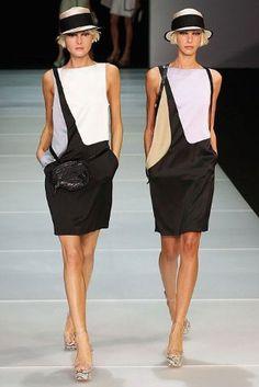Milan Fashion Week: Emporio Armani spring/summer 2012 in