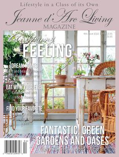 Vintage Country, Country Chic, Country Decor, European Garden, Flea Market Decorating, Living Magazine, Edible Flowers, Inspired Homes, Garden Inspiration